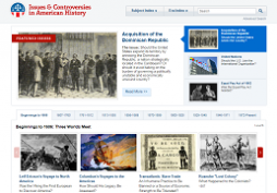 Issues & Controversies in American History screenshot