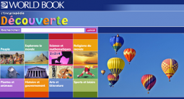World Book in French screenshot