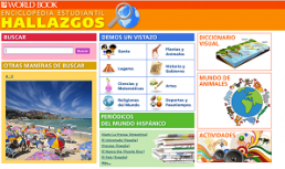 World Book in Spanish for Kids screenshot