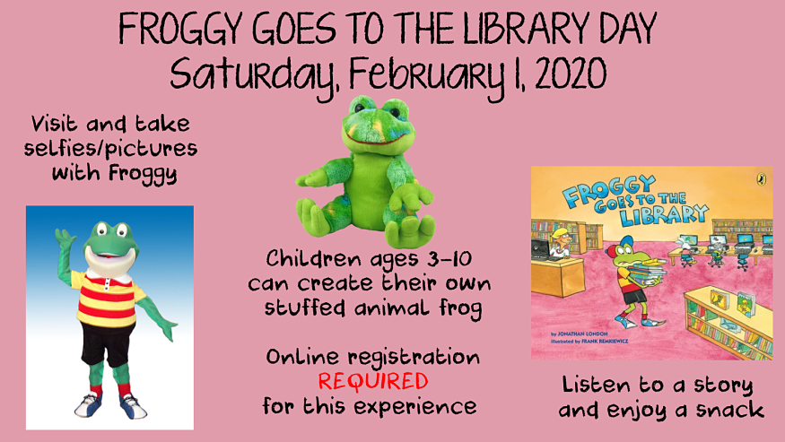 Froggy Goes to the Library graphic